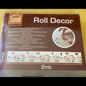 COPY - HOME DECOR BY CREARREDO-FLORAL ROLL DECOR